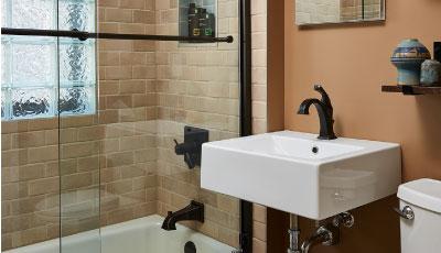 Minneapolis Craftsman Bungalow Bathroom